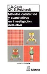 Papel METODOS CUALITATIVOS Y CUANTITATIVOS EN INVESTIGACION EVALUA