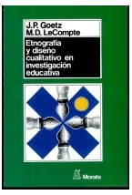 Papel Etnografía y diseño cualitativo en investigación educativa