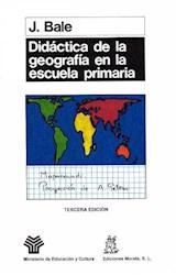 Papel DIDACTICA DE LA GEOGRAFIA EN LA ESCUELA PRIMARIA
