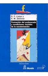Papel FORMACION DEL PROFESORADO Y CONDICIONES SOCIALES DE LA ESCOL