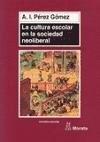 Papel La Cultura Escolar En La Sociedad Neoliberal
