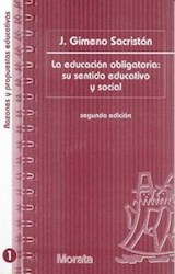 Papel EDUCACION OBLIGATORIA SU SENTIDO EDUCATIVO Y SOCIAL