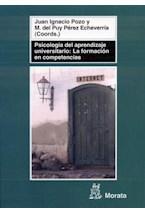 Papel PSICOLOGIA DEL APRENDIZAJE UNIVERSITARIO: LA FORMACION EN CO