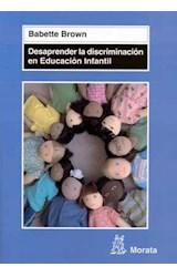 Papel DESAPRENDER LA DISCRIMINACION EN EDUCACION INFANTIL