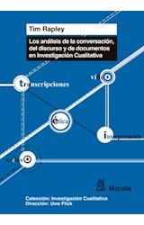 Papel Los Análisis De Conversación, De Discurso Y De Documentos En Investigación Cualitativa