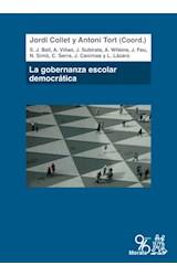 Papel La Gobernanza Escolar Democrática