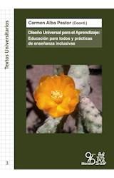Papel DISEÑO UNIVERSAL PARA EL APRENDIZAJE: EDUCACION PARA TODOS Y