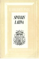 Papel SINTAXIS LATINA (RUSTICA)