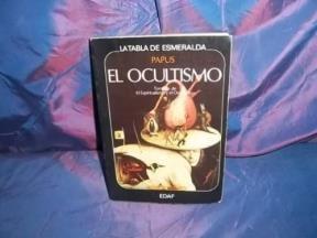 Papel OCULTISMO (COLECCION LA TABLA DE ESMERALDA)