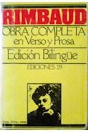 Papel OBRA COMPLETA EN VERSO Y PROSA [EDICION BILINGUE]