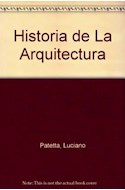 Papel HISTORIA DE LA ARQUITECTURA (CARTONE)