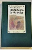 Papel SIGNIFICADO DE LOS FOSILES (CIENCIAS DE LA NATURALEZA)