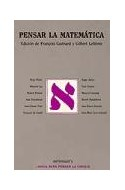 Papel PENSAR LA MATEMATICA (COLECCION METATEMAS)