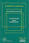 Papel La Eutanasia, Estudio Filosófico-Jurídico