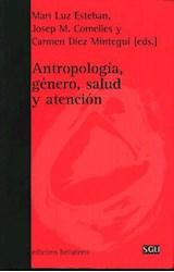 Papel ANTROPOLOGIA, GENERO, SALUD Y ATENCION