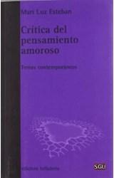 Papel CRITICA DEL PENSAMIENTO AMOROSO