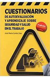 Papel CUESTIONARIOS DE AUTOEVALUACION Y APRENDIZAJE SOBRE SEGURIDA