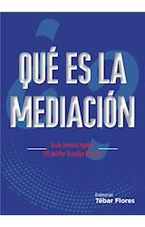 E-book ¿Qué es la mediación?