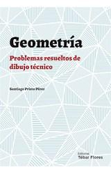E-book Geometría plana: Problemas resueltos de Dibujo Técnico