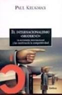 Papel INTERNACIONALISMO MODERNO (LETRAS DE CRITICA)
