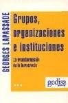 Papel Grupos Organizaciones E Instituciones
