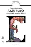 Papel BIO ENERGIA ENSAYO SOBRE LA OBRA DE W. REICH (BIBLIOTEC  A MAYOR)