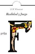 Papel REALIDAD Y JUEGO (COLECCION PSICOTECA MAYOR)