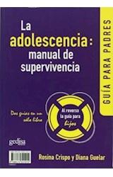 Papel LA ADOLESCENCIA MANUAL DE SUPERVIVENCIA