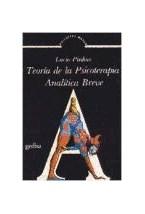 Papel TEORIA DE PSICOTERAPIA ANALITICA BREVE