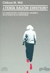 Libro Tenia Razon Einstein