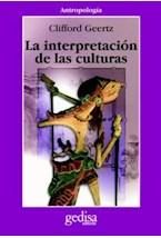 Papel LA INTERPRETACION DE LAS CULTURAS