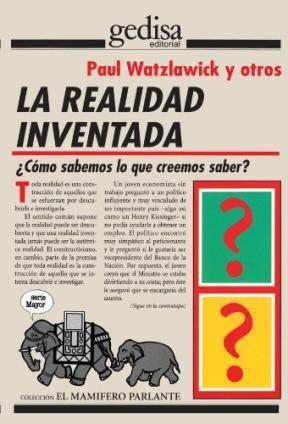 Papel La Realidad Inventada : ¿Cómo Sabemos Lo Que Creemos Saber?