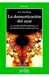 Papel DOMESTICACION DEL AZAR, LA-EROSION DEL DETERMINISMO