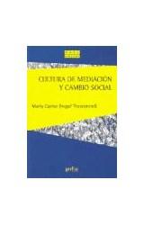 Papel CULTURA DE MEDIACION Y CAMBIO SOCIAL