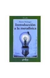 Papel INTRODUCCION A LA METAFISICA
