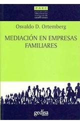 Papel MEDIACION EN EMPRESAS FAMILIARES