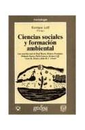 Papel CIENCIAS SOCIALES Y FORMACION AMBIENTAL (RUSTICA)