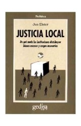 Papel JUSTICIA LOCAL
