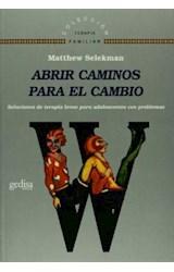 Papel ABRIR CAMINOS PARA EL CAMBIO