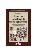 Papel ASPECTOS MORALES DE LA TEORIA JURIDICA