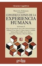 Papel CONSTRUCCIONES 2 DE LA EXPERIENCIA HUMANA