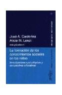 Papel FORMACION DE LOS CONOCIMIENTOS SOCIALES EN LOS NIÑOS IN  VESTIGACIONES PSICOLOGICAS Y PERSPE