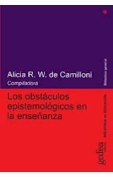 Papel LOS OBSTACULOS EPISTEMOLOGICOS EN LA ENSEÑANZA,