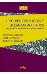Papel RESOLVER CONFLICTOS Y ALCANZAR ACUERDOS