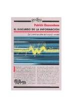 Papel DISCURSO DE LA INFORMACION, EL (CONSTRUCCION DEL ESPEJO SOCI