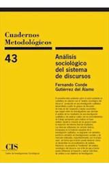 Papel ANALISIS SOCIOLOGICO DEL SISTEMA DE DISCURS