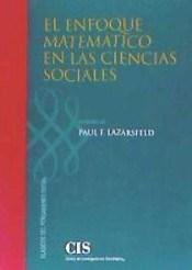 Papel EL ENFOQUE MATEMATICO EN LAS CIENCIAS SOCIALES