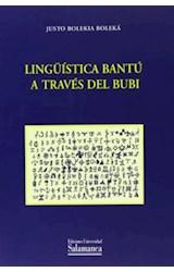 Papel Lingüística bantú a través del bubi