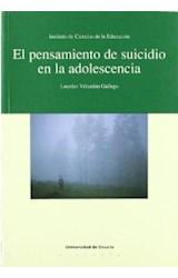 Papel EL PENSAMIENTO DE SUICIDIO EN LA ADOLESCENCIA
