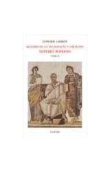 Papel HISTORIA DE LA DECADENCIA Y CAIDA DEL IMPERIO ROMANO TOMO II
